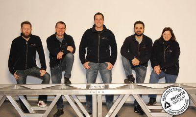 Bühnentechnik-Team der Firma cast