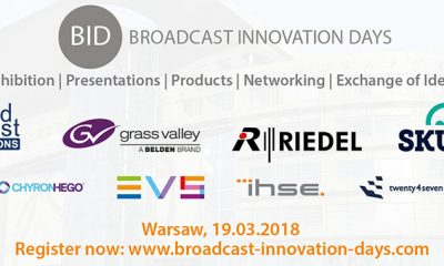 Broadcast Innovation Day am 19. März in Warschau