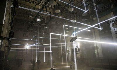 Immersive Installation SKALAR von Christopher Bauder im Kraftwerk Berlin © Robe /Louise Stickland
