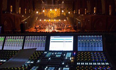 Stage Tecs CRESCENDO platinum als FOH-Pult bei der Latin-Jazz Sinfónica! der Neuen Philharmoniker