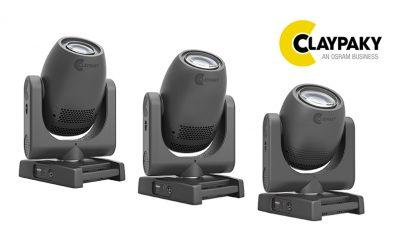 Die neue Axcor 300 Serie von Claypaky, bestehend aus Spot, Beam und Wash
