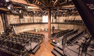 Eine wirklich besondere Spielstätte: das Hobuveski-Theater in Tallinn