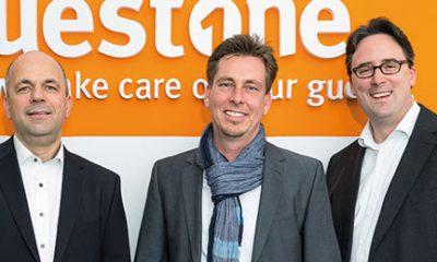 Die Guest-One-Geschäftsführung: Marcel Schettler, Thomas Küfner und Oliver Maitre (v.l.)