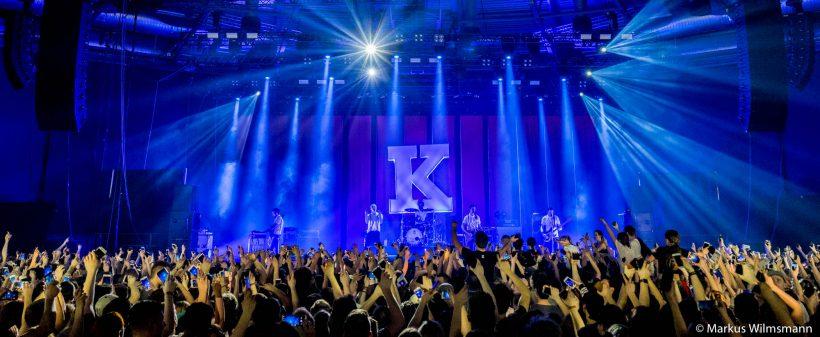 Kraftklub live in der Stadthalle Zwickau am 11. März 2018.