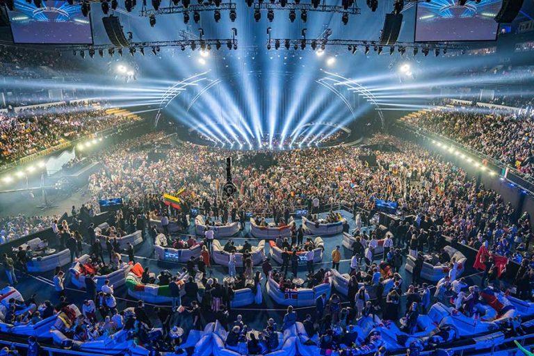 ESC 2018 stage