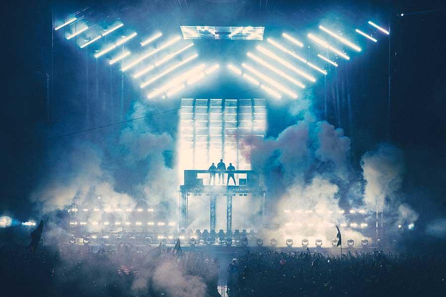 Swedish House Mafia live on stage
