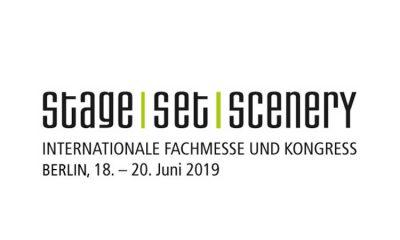 Logo Stage Set Scenery 2019 mit Unterzeile