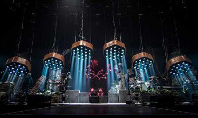 """Bühnendesign der """"MonkAdelic"""" Tour von Shaka Ponk"""