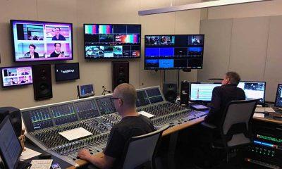 Regieraum TV-Studio