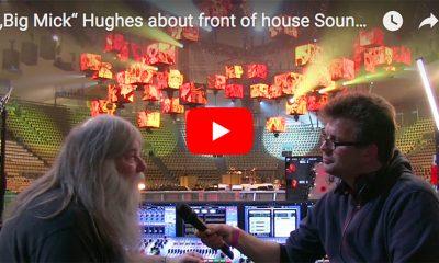 """""""Big Mick"""" Hughes im Interview in der Olympiahalle München."""