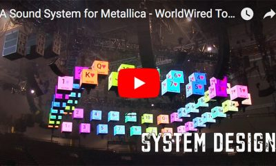Meyer Sound LEO und 1100 LFC für Metallicas WorldWired Tour.