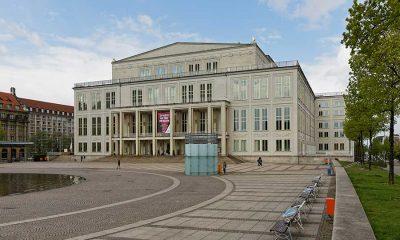 Oper Leipzig Außenansicht