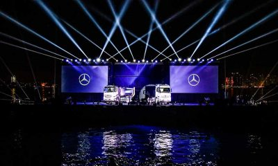 LKW Erstvorstellung Mercedes Benz