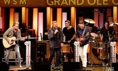 Country Band on stage