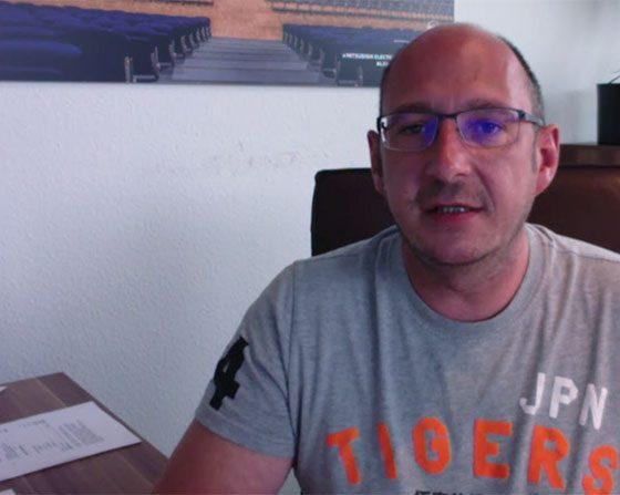 Arne Deterts, Geschäftsführer von dBTechnologies Deutschland.