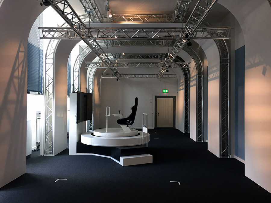 Global Truss im neuen VRlab des Deutschen Museums in München ...