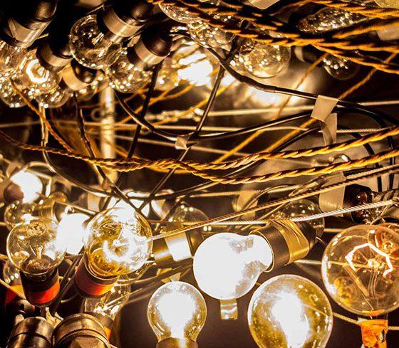 Blindlast für die Neonröhren. # © Markus Wilmsmann