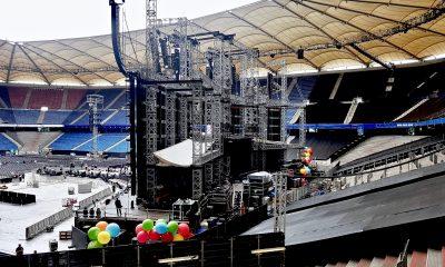Bei der Helene Fischer-Tour sorgte die Custom-Made Stage für Aufsehen.