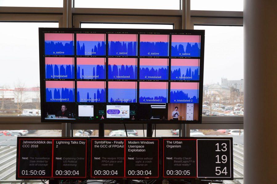 Loudness Metering und Infos zu den Veranstaltungen. © Stage Tec