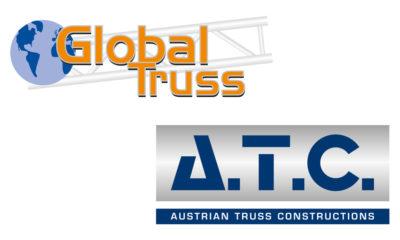 Global Truss und A.T.C. vereinbaren strategische Partnerschaft.