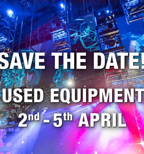 Pop-up Warehouse – PRG verkauft gebrauchte Veranstaltungstechnik. # © PRG