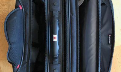 Der Trolley bleibt ab sofort im Schrank.