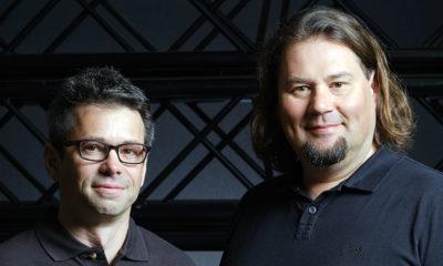 Florian Rapp und Mathias Brugger (v.l.), die neuen Geschäftsführer der Gierss. Veranstaltungstechnik GmbH