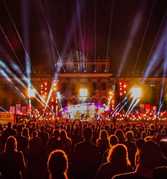 Die beiden Konzerte im Ehrenhof von Schloss bildeten den krönenden Abschluss der one.earth Tour 2019. # © Markus Wilmsmann
