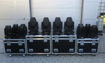 ELATION Dartz 360 und Smarty Hybrid bei Veranstaltungstechnik Burczyk # © Veranstaltungstechnik Burczyk