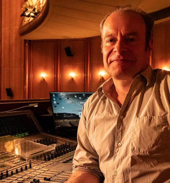 Klaus Dobbrick, Leiter der Abteilung Ton/Video an der Volksbühne Berlin.