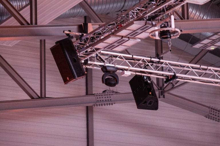 Firma CKV Ton- und Lichtanlagen erarbeitete ein Konzept mit Voice-AcousticLautsprechern und bekam den Zuschlag für das Projekt © Voice-Acoustic