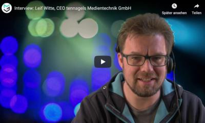Markus Wilmsmann on mothergrid im Gespräch mit Leif Witte von tennagels Medientechnik
