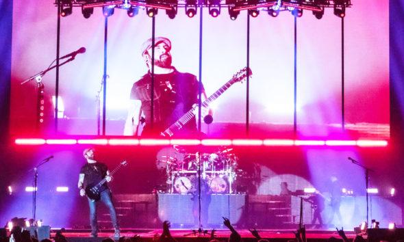 Volbeat live und mit neuem Look von Lichtdesigner Niller Bjerregaard.
