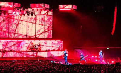 Volbeat live in der Quarterback Immobilion Arena Leipzig im Dezember 2019.