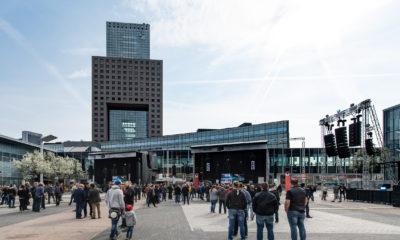 Die Prolight + Sound auf dem Gelände der Messe Frankfurt. # © Messe Frankfurt Exhibition GmbG / Pietro Sutera