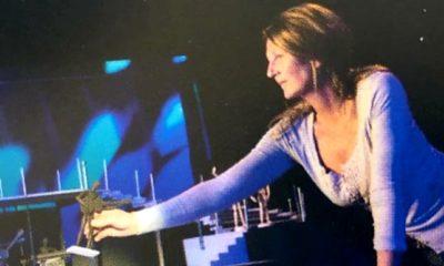 Friederike Krauch bei der Arbeit im Showlabor.