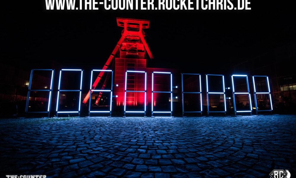 The:Counter auf Zeche Zollverein.