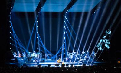 Peter Maffay live in Leipzig 2018, Lichtdesign von Günter Jäckle.