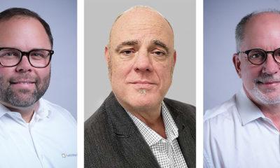 L-Acoustics Team America: B.J. Shaver, Alan Macpherson und William Cornell (v.l.)