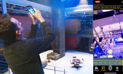 """Mit der Funktion """"Fokus Wand"""" lässt sich das Smartphone wie ein Laserpointer benutzen."""