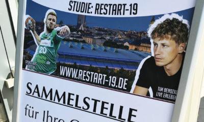 Die RESTART-19 Studie fand im August in der Quarterback Immobilien Arena in Leipzig statt. Jetzt liegen die Ergebnisse vor. Foto: © Sebastian Bähr