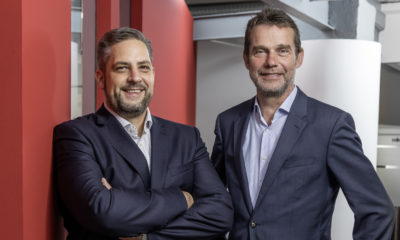 Malte Polli-Holstein und Michael Gutsmann von Amptown System Company (vl). © ASC