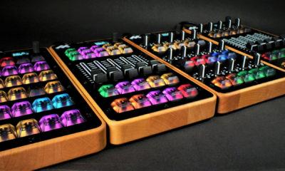 MIDICRAFT ist in vier Varianten erhältlich: PUSH, FADE, TURN und MIX.