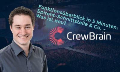 Sven Schlotthauer von CrewBrain stellt die Personalplanungssoftware in einer knackigen Präsentation vor.