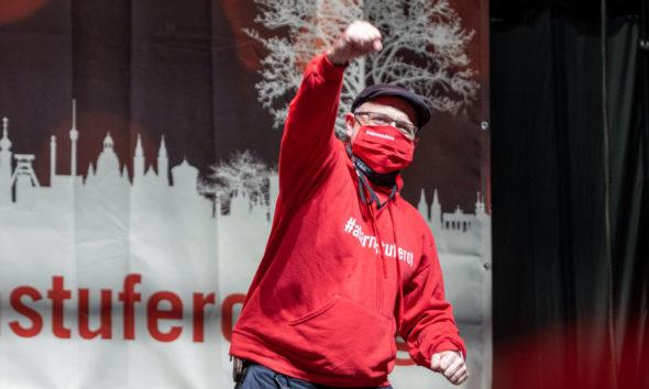 Marcel Fery, #alarmstuferot / TSE AG # © Uwe Müller