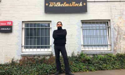 Lars Vegas Ide in seinem Domizil: WilhelmsRock