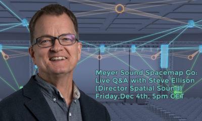Steve Ellison, Director Spatial Sound bei Meyer Sound.