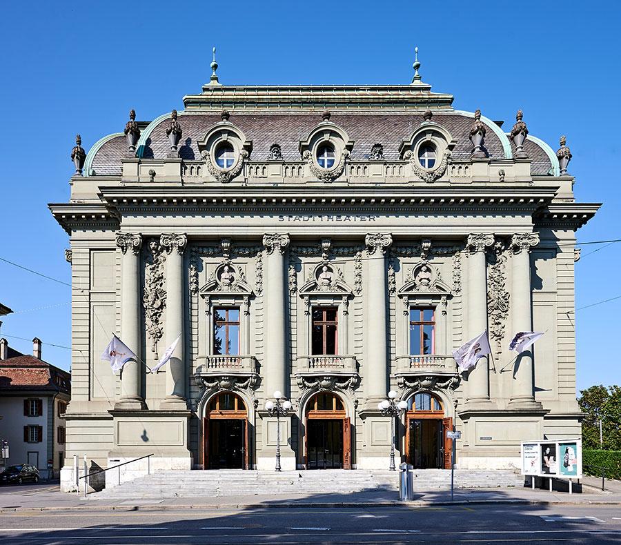 Die Stiftung Konzert Theater Bern, in der das Berner Symphonieorchester und das Stadttheater Bern (im Bild), mit den Sparten Musiktheater, Tanz und Schauspiel, zusammengeführt wurden, hat ihre Arbeit am 1. Juli 2011 aufgenommen. © Konzert Theater Bern