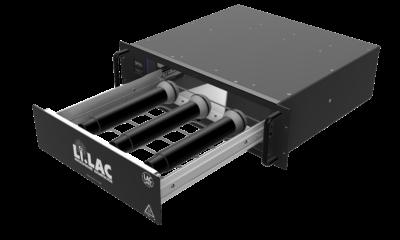 Li.LAC desifinziert in fünf bis zehn Minuten mit 2 x 16 Watt Leistung.