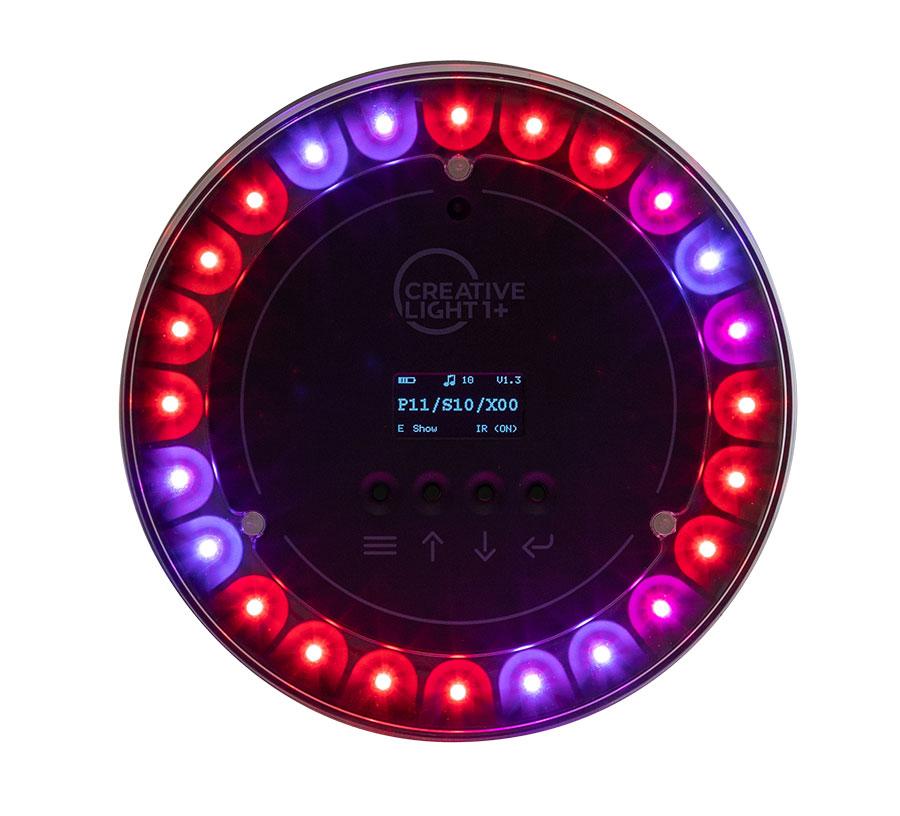 Beide Versionen verfügen über 24 RGB-LEDs und bieten zahllose Gestaltungsmöglichkeiten.